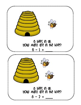 Busy Bee Subtraction Pack