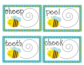Busy Bees A 'ee' Vowel Digraph Game