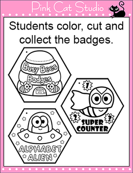 Busy Bees Achievement Badges