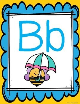 Busy Bees - Alphabet Posters