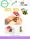 Busy Bees Art Lesson *FREE*