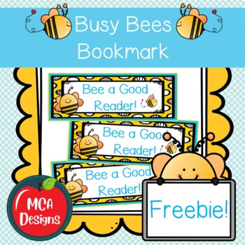 Busy Bees - Bookmarks