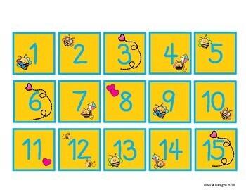Busy Bees - Calendar