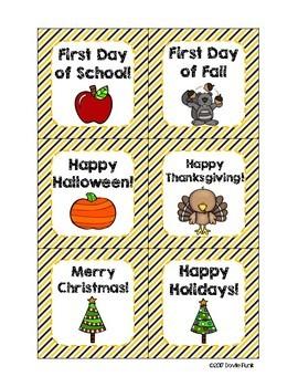 #roomdecor Busy Bees Calendar Set