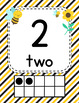 Classroom Decor Busy Bees Classroom Number Posters