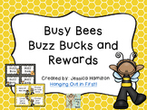 Busy Bees Classroom Theme - Buzz Bucks and Rewards