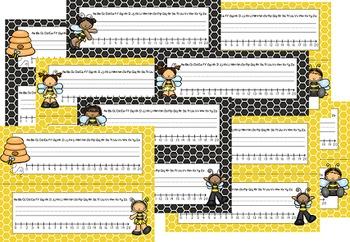 Busy Bees Classroom Theme - Deskplates