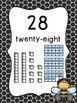Busy Bees Classroom Theme - Number Line