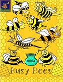 Busy Bees Clip Art