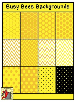Busy Bees Clipart Bundle
