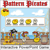Patterns Game - Pirates PowerPoint Game for Whiteboards &