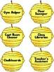 Busy Bees Classroom Job Chart