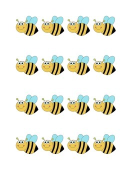 Busy Bees Job Chart