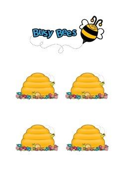 Busy Bees Job Chart