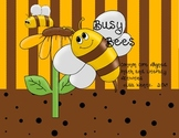 Busy Bees Math and Literacy Activities Aligned to Common Core