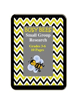 Busy Bees Small Group Research