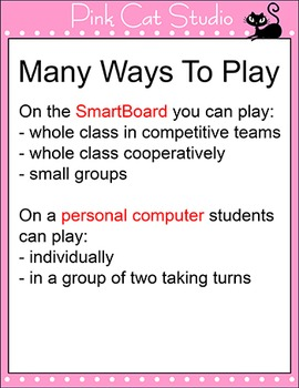 Counting, Sequencing and Subitizing Game - Number Sense PowerPoint Game