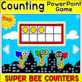 Counting, Sequencing and Subitizing Math Game - Number Sense PowerPoint Game