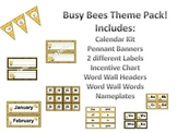Busy Bees Theme Pack