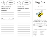 Busy Bees Trifold - Open Court 2nd Grade Unit 4 Lesson 4