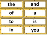 Busy Bees Word Wall Words