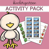 Activity pack for kindergarten (3 - 4 year olds) | Distanc