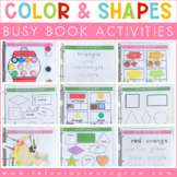 Busy Binder: Color & Shape Activities