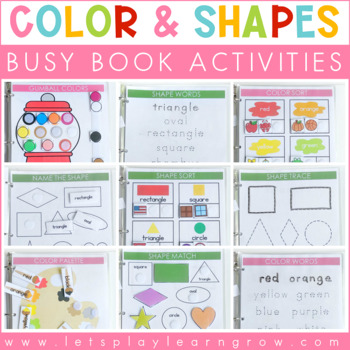 Kindergarten Busy Worksheets
