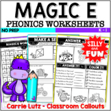 Magic E Worksheets ~ Printable No Prep
