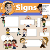 Busy Bodies Signs!