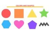 Busy Book Colors and Shapes
