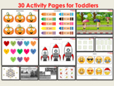 Busy Book Printable For Toddlers & Preschoolers, Kindergar