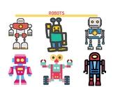 Busy Book Robots