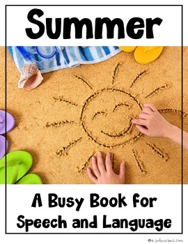 Busy Book for Speech and Language: Summer