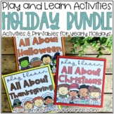 Busy Books Activities and Printables HOLIDAY BUNDLE for Li