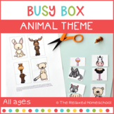 Busy Box - Animal Theme