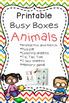 Busy Box - Animal Theme