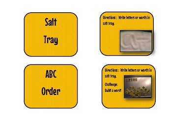 Busy Box Labels With Instructions