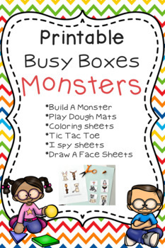 Busy Box - Monster Theme