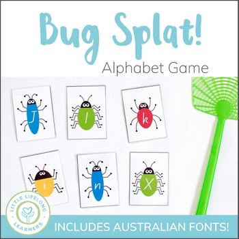 Busy Bug Splat - Alphabet and Letter Recognition Game ...