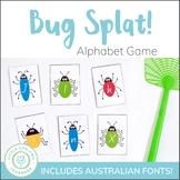 Letter Recognition Game - SPLAT includes QLD Font