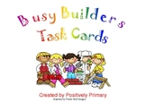 Busy Builders Task Cards