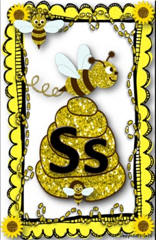 Busy Bumble Bee~ Word Wall Header Cards