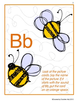 Busy Buzzing Bees: Letters, Sounds, Words - Bb
