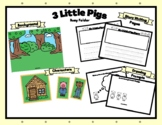 Busy Folder 3 Little Pigs For Speech, Play, Writing, Drawi