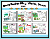 Busy Folder BUNDLE For Dramatic Play, Speech, Writing & More!