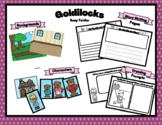 Busy Folder Goldilocks Themed Speech, Dramatic Play, Writi