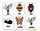 Busy Little Bugs Kindergaten Math and Literacy Skills Pack