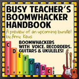 Busy Teacher's Boomwhackers