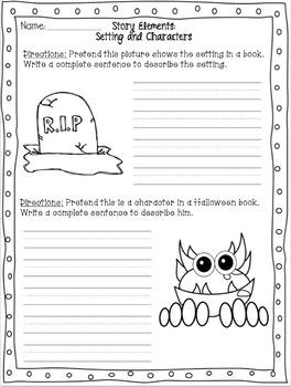 Busy Teacher's Best Friend: Halloween Edition